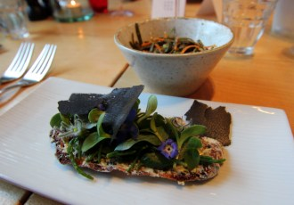 Veggie innovation at Grain Store, London