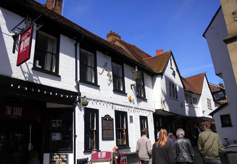 St Albans' historical centre