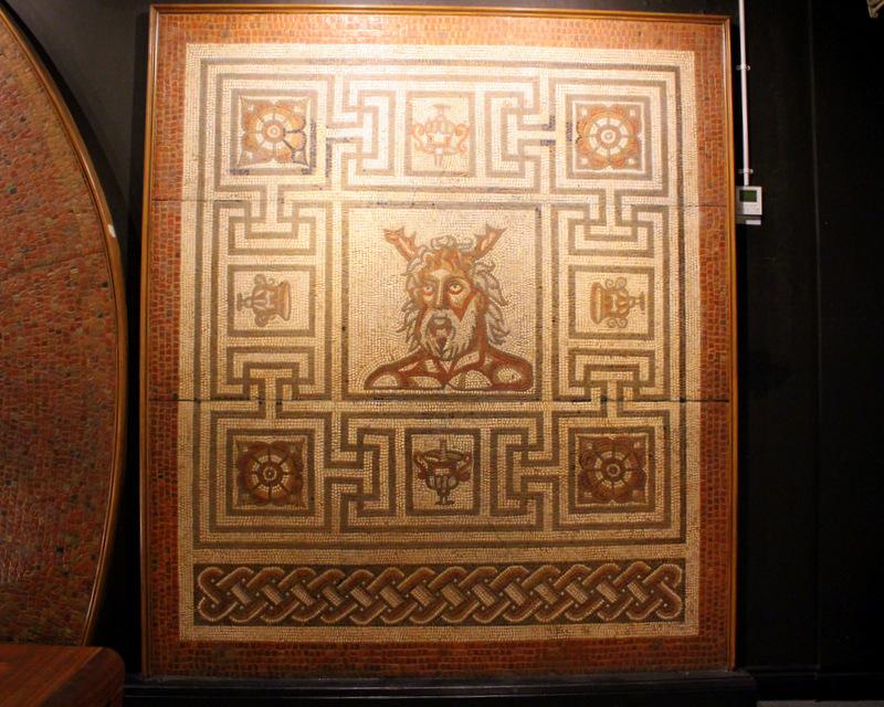 Mosaics at Verulamium Museum