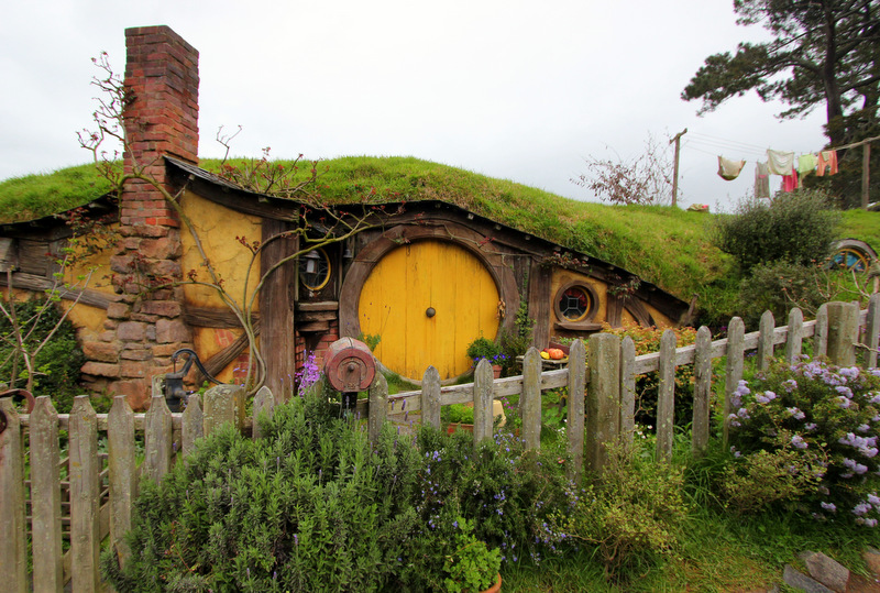 Samwise's home in Hobbiton