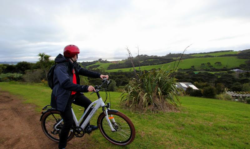 Cycling Waiheke Island