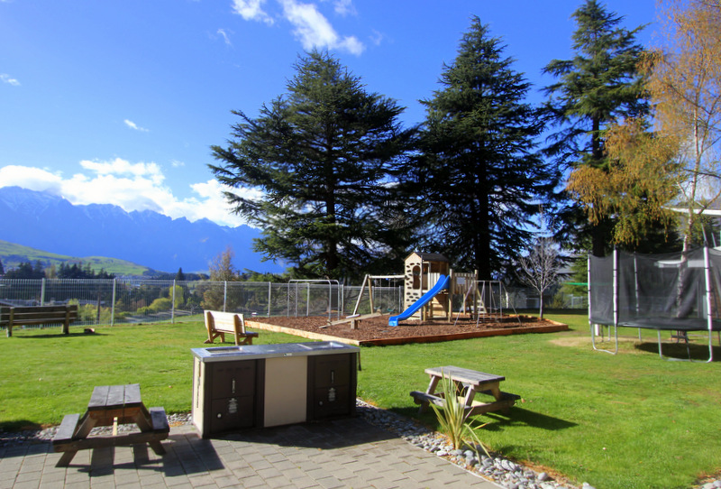 New Zealand campsite facilities