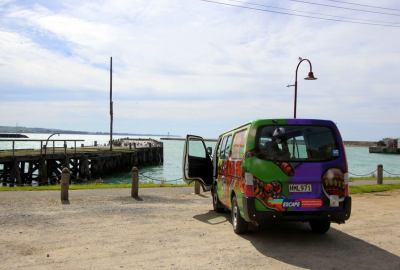 Escape Rentals campervan