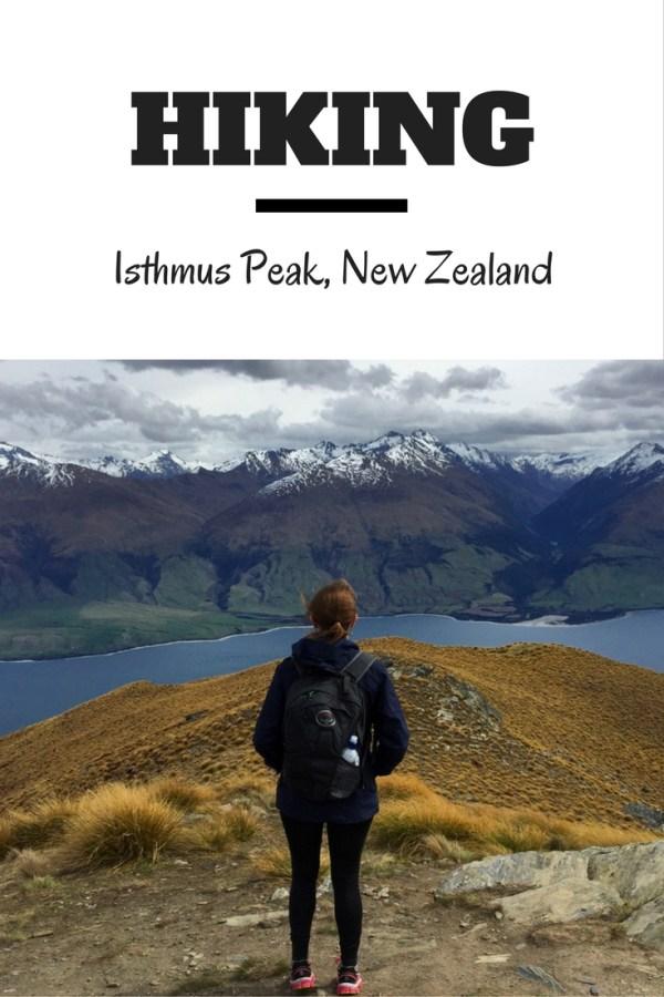Hiking Isthmus Peak