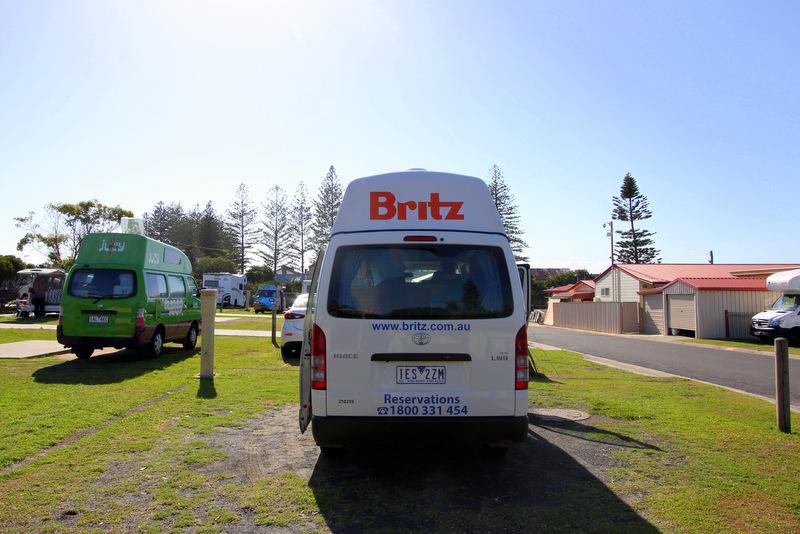 Campervanning in Australia