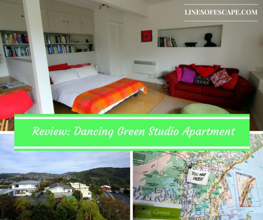 Review of Dancing Green Studio Apartment, Wellington