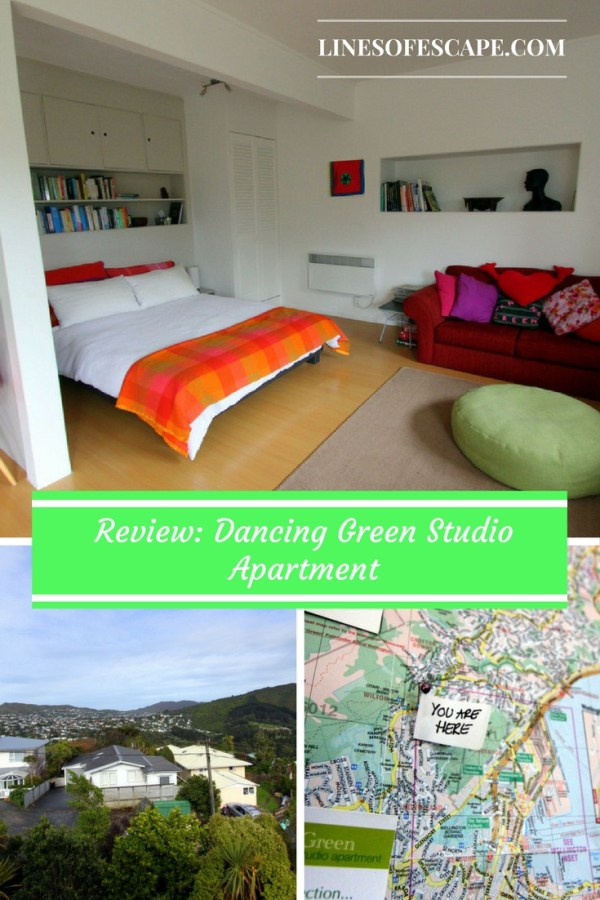 Review of the Dancing Green Studio Apartment, Wellington