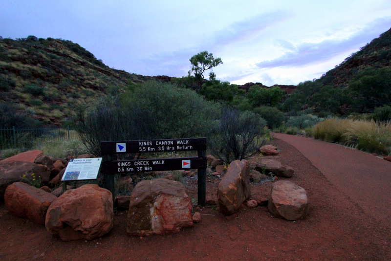 Kings Canyon signpost