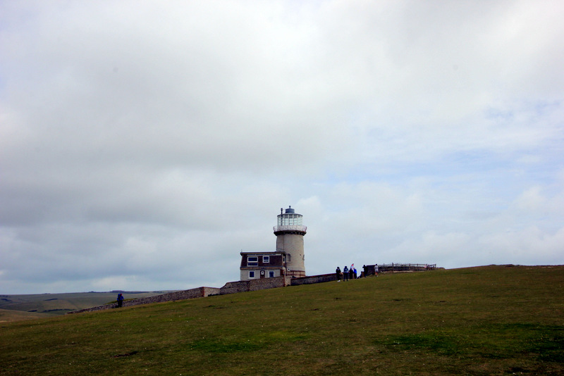 Belle Tout Lighthouse in the distance