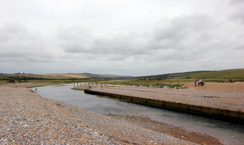 Cuckmere River crossing