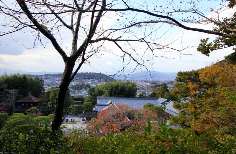 View over Ginkaku-ji