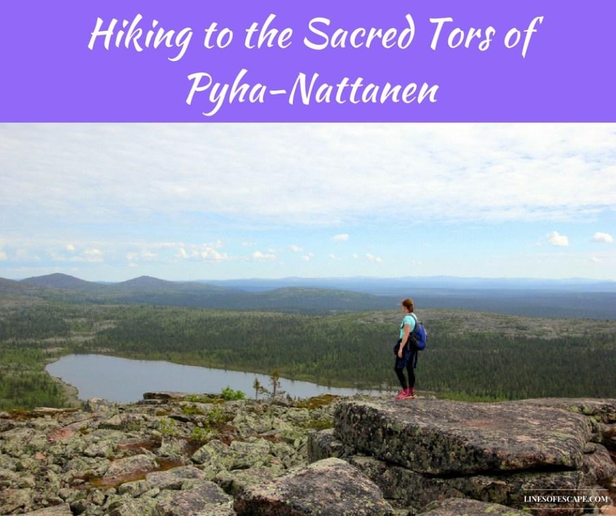 Hiking to the sacred tors of Pyha-Nattanen