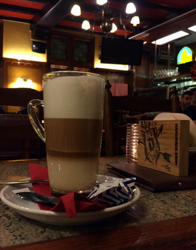 Coffee at Cafe Craenenburg