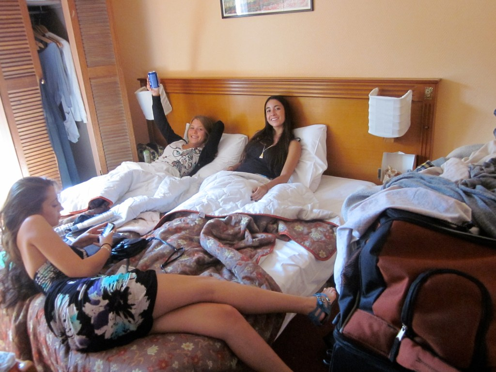 Twintig hostel room