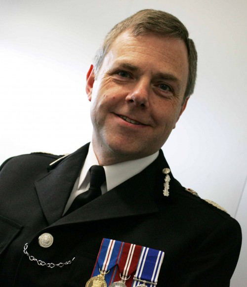 Mr Simon Prince, Chief Constable of Dyfed-Powys and the Association of Chief Police Officers' National Policing Lead on Rural & Wildlife Crime. Mr Prince's support continues to prove invaluable.