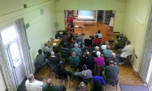 11.Rado Papiewski presenting at the Larkfield Fisheries Enforcement Workshop on 8 November 2014 – important opportunities to learn more about the law and system from professionals. The next Workshops will be in the North of England – details coming soon.