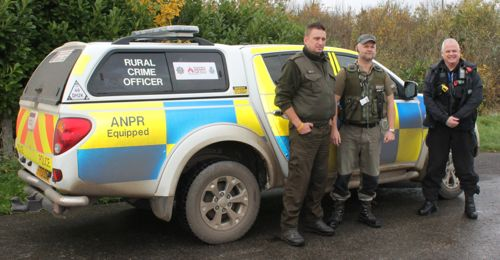 PC Nick Willey of Lincolnshire Police and a prime-mover in TRAVERSE, with an Environment Agency fisheries enforcement officer and (left) Commandant Maciek Bialy of the Polish PSR – who attended at the Angling Trust's invitation to share Best Practice and intelligence. The breaking down of barriers with Eastern European enforcement agencies will be extended to other countries in due course.