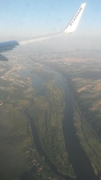 Arriving at Kaunas, Lithuania – a lovely city at the junction of two major rivers.