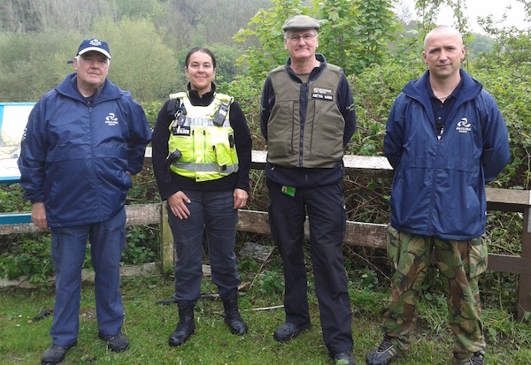 The EA, The Police and Angling Trust Volunteer bailiffs are now working together.