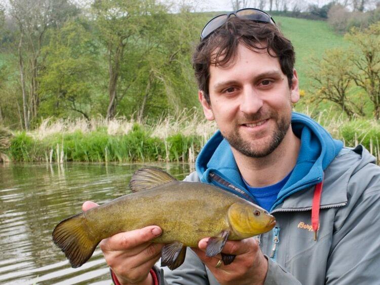 Canal tench fishing Dom Garnett Angling Trust