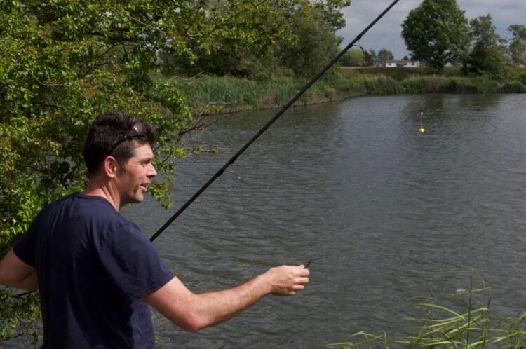 Carp fishing in London
