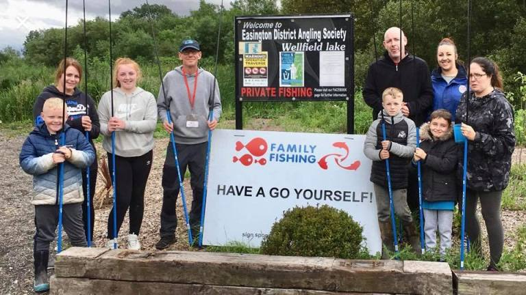 Junior learn to fish days North East Durham