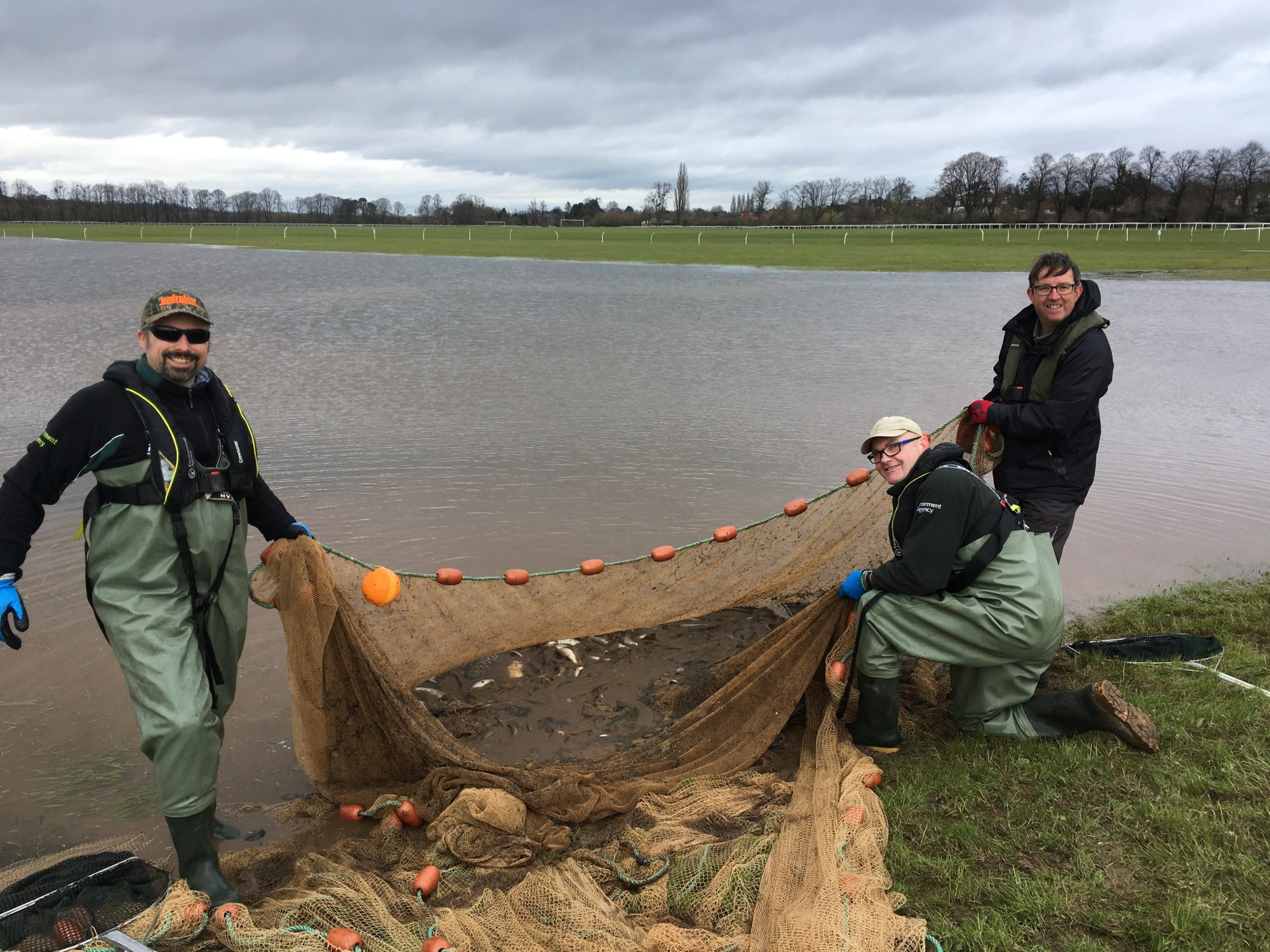 Environment Agency Fish Rescue