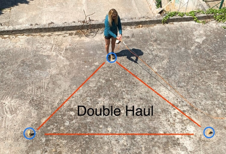 How to double haul fly casting fishing tips