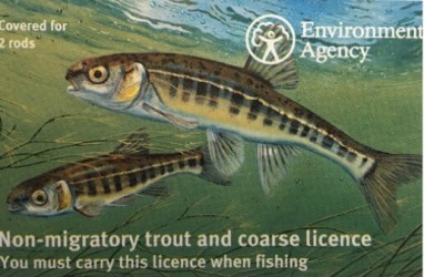 Ever since the introduction of the card style rod licence, David has been the man behind the beautiful designs.