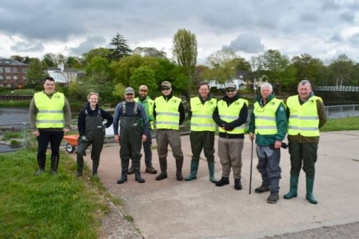 River Exe Canal clean up litter pick