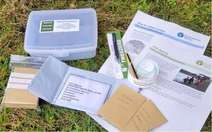 fish scale ageing kit environment agency