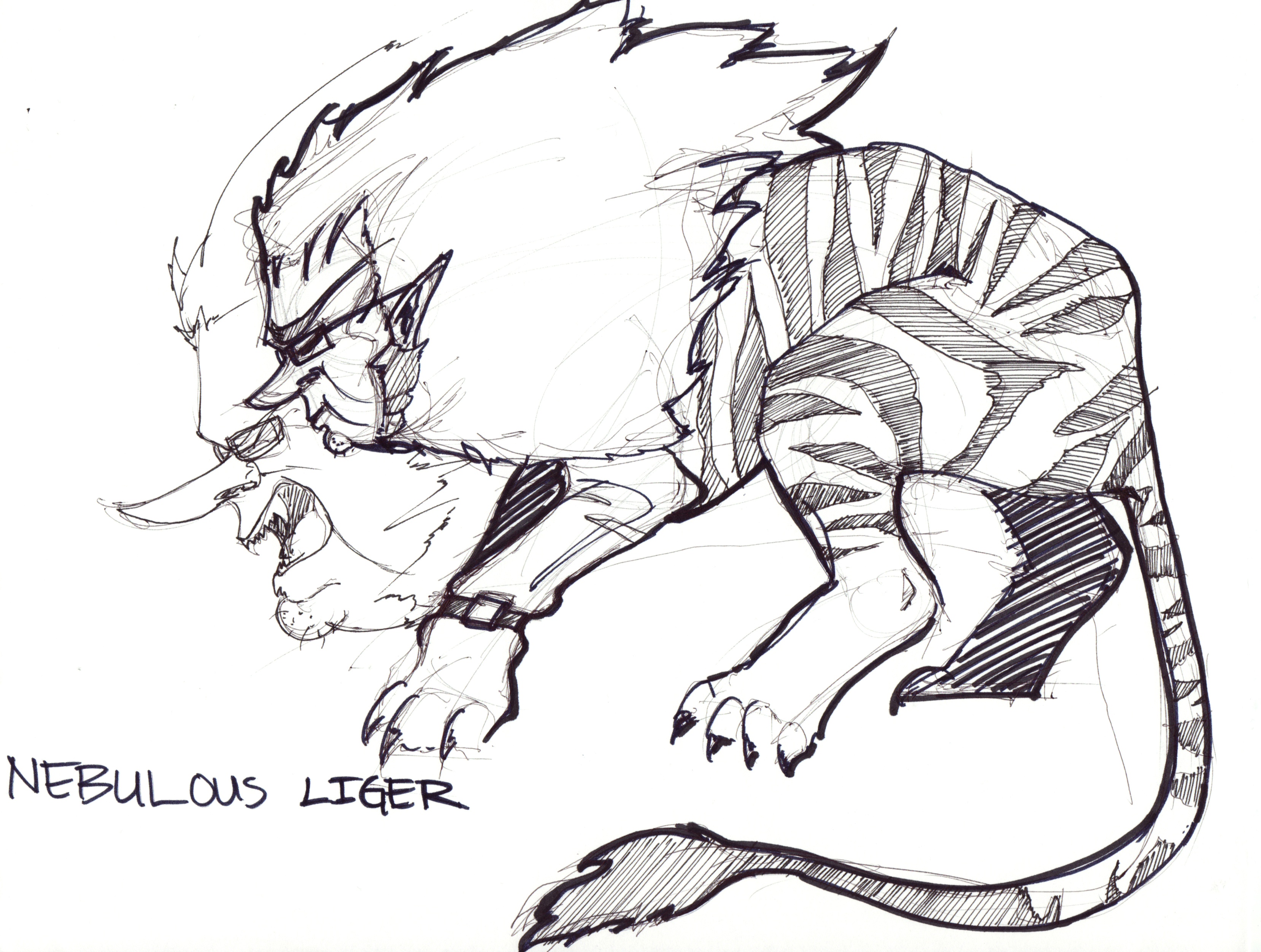 nebulous liger