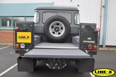 LINE-X Land Rover defender