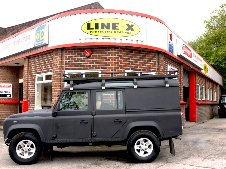 LINE-X Mansfield Land Rover
