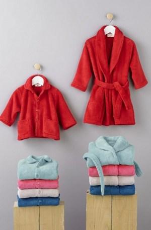 veste et kimono polaire enfant
