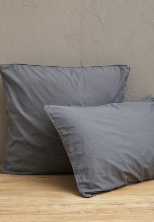 percale lavée gris pavé