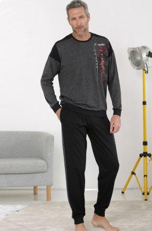 pyjama gris anthracite massana