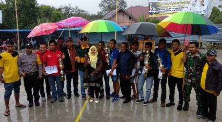 Tragong Juara Turnamen Voli Kampung Daling