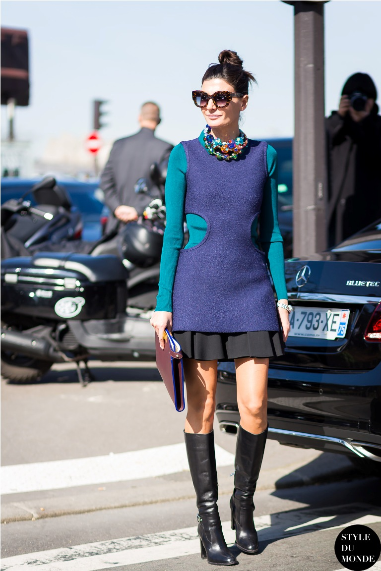 1.-cut-out-dress-with-skirt-and-knee-boots