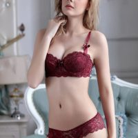 Women Push Up Underwire Bra and Panty Set Lace Soft Cotton Cup Lingerie Set. Hook and Eye closure. Made of soft cotton lining to take good care of your delicate skin. Panty features soft cotton bottom and elastic waistband. Fri, 03 Sep 2021 18:02:15 +0400