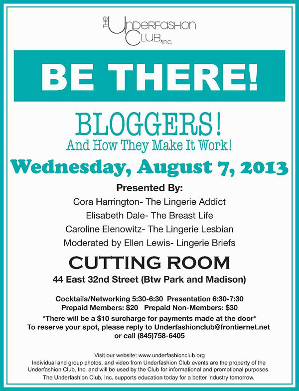 UnderFashion-Club-Invitation-on-Blogging-Moderated-by-Ellen-Lewis-at-the-Cutting-Room