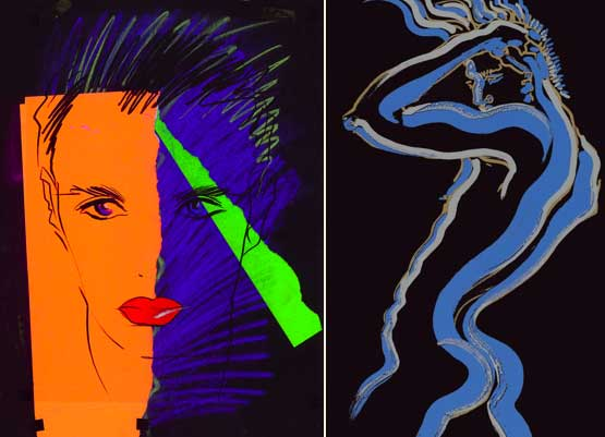 Tony Viramontes fashion illustrations