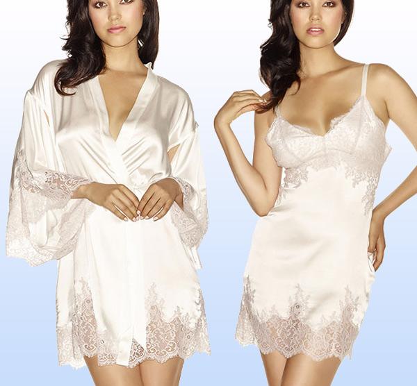 NKiMODE Capucine Bridal silk lingerie on Lingerie Briefs