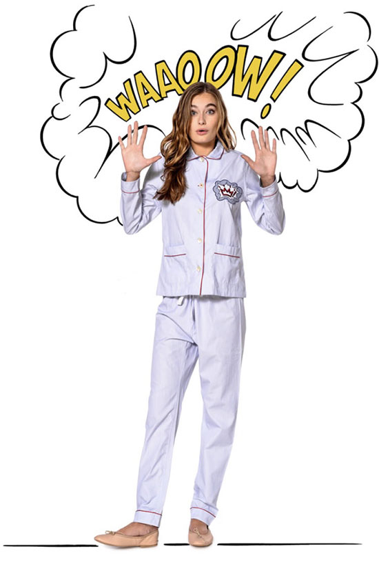 Maison Marcy pajamas for men and women on Lingerie Briefs