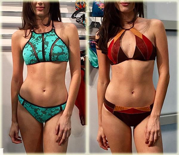 Nanette Lepore high neck swimsuits on Lingerie Briefs