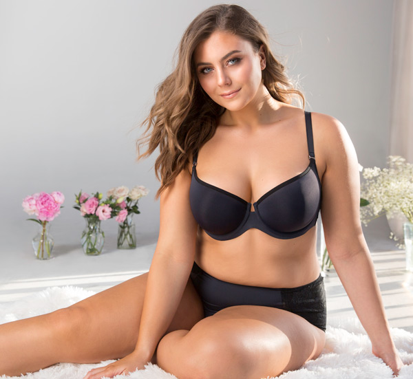 Tulip Smooth Push Up Bra - Curvy Couture