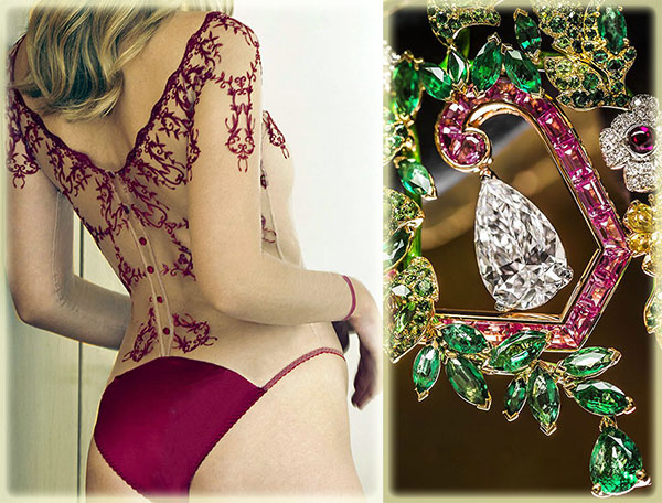 Fleur of England Dare collection on Lingerie Briefs