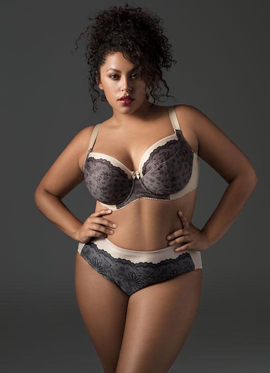 Elila Bras for Curvy Girls on Lingerie Briefs