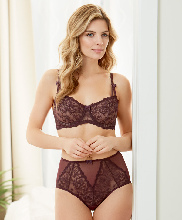 Mystic Garden best-selling Flirt bra and high waist panty by Montelle