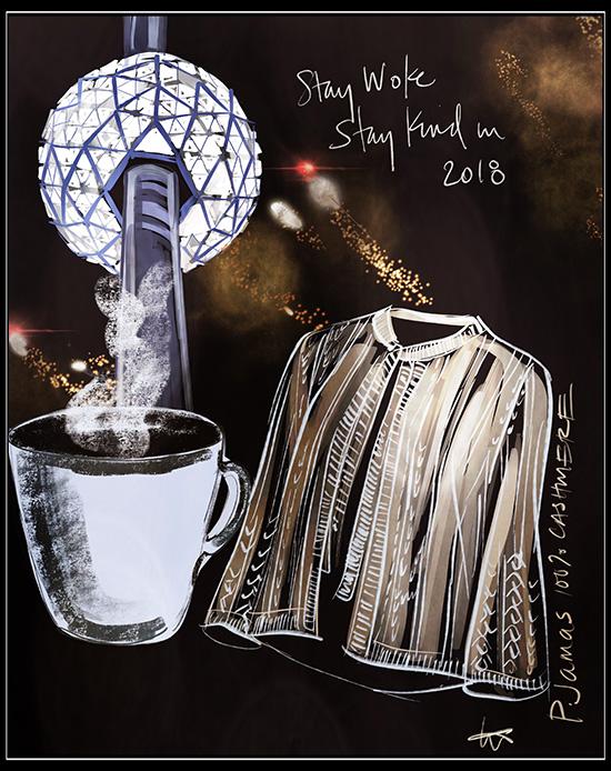 Tina M. Wilson Fashion Illustrations on Lingerie Briefs